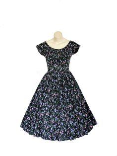 1950s Designer Dress - Vintage Philosophy archives.