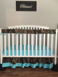 Items similar to Camo Crib/toddler baby bedding set bumperless with realtree camo Fabric on Etsy Baby Bedding Sets, Crib Sets, Cribs, New Baby Products, Camo, Etsy Shop, Handmade Gifts, Furniture, Home Decor