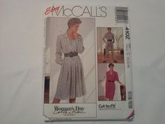 4102 McCall's Misses Dress and Jumpsuit by MammieandPappysPlace