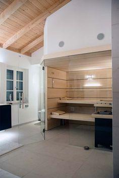 Sauna versteck im Keller? So kann Sauna heute aussehen! Design macht es möglich Saunen in jedem Raum zu plazieren. B&R Saunabau passt jede Sauna  individuellen räumlichen Gegebenheiten und persönlichen Bedürfnissen an!