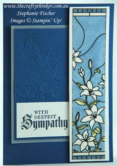 www.thecraftythinker.com.au, Sneak Peek 2018-2019 Catalogue, Painted Glass, 2018-2020 In-Colour Blueberry Bushel, Stampin' Up!