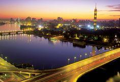 Nile River, Zamalek, Cairo, Egypt