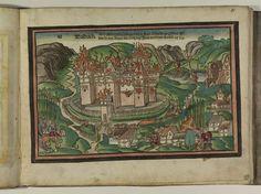 Artist: Unknown, Title: Bamberger Burgenbuch, Date: 1527, Page: 10