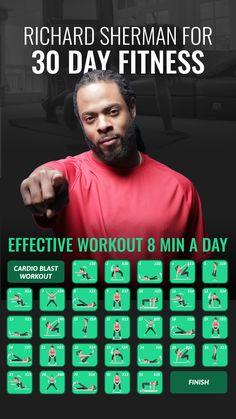Get in shape in 4 weeks with expert-approved workouts! Health App, Health Fitness, 30 Day Fitness, 30 Day Workout Challenge, Medicine Ball, Toned Arms, Flat Tummy, Get In Shape, At Home Workouts