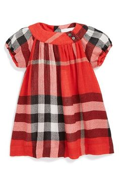 wishing there was Rent-A-Swag for little girls | Burberry 'Delany' Dress (Baby Girls)