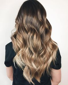 Soft Bronde Balayage Hair