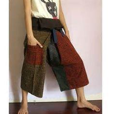 Thai Fisherman Pants Pattern   Sewing stuff   Pinterest