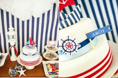 cake nautical - Buscar con Google