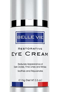 Belle Vie Restorative Eye Cream  Luxury Eye Cream  Advanced Vitamin K  Arnica Formula for Reducing Dark Circles Puffiness Fine Lines  Wrinkles  Soothes Refreshes  Rejuvenates Skin >>> Learn more by visiting the image link.