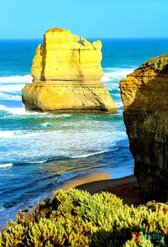 """one of the """"12 Apostles"""" along the Great Ocean Road in Victoria, Australia"""