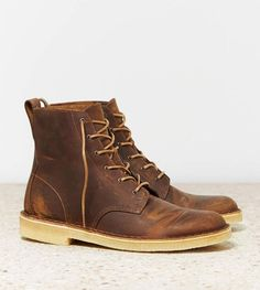 Clarks makes great shoes for men! #mensfashion #style #combatboots