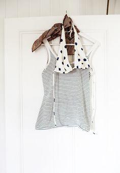 stripes & polca dots ,perfect combination