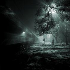 Waiting for train spectrum by Leszek Bujnowski on 500px