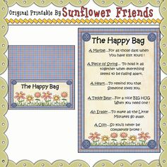 Prayer Rock Poem | Freebies : Sunflower Friends, Clipart Collections and Computer ...