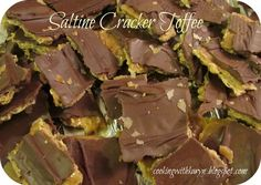 "Things that make you say: ""Mmmmm""!: Saltine Cracker Toffee"