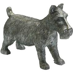 Monopoly Scottish Terrier Dog Game Token Sculpture (£75) ❤ liked on Polyvore featuring toys, dogs and games