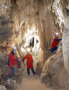 Castellana Caves in Puglia are rich in stalactites and stalagmites