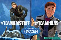 This made me laugh Go team Kristoff! Hans turned out to be.....