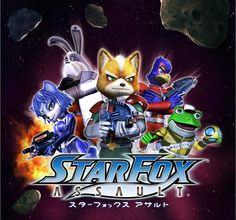 Starfox Assault (one of my most favorite Starfox games of all time) ❤