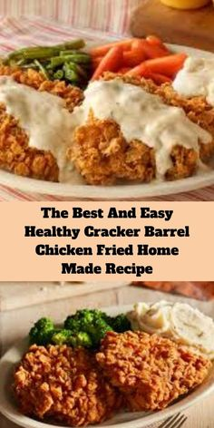 The Best And Easy Healthy Cracker Barrel Chicken Fried Home Made Recipe Cooking Fried Chicken, Fried Chicken Breast, Fried Chicken Recipes, Easy Zucchini Recipes, Salmon Recipes, Cracker Barrel Copycat Recipes, Baby Food Recipes, Yummy Recipes, Dinner Recipes