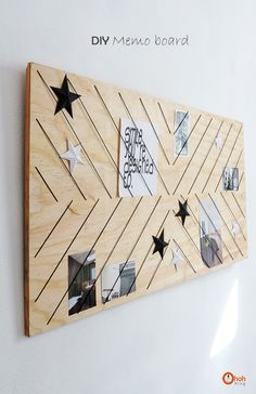 It's always useful to have a memo board somewhere in the house, it can be in the kitchen to keep recipes and shopping list, or in the craft room as an inspiration board, or you…