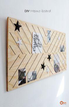 DIY Memo board - Ohoh Blog