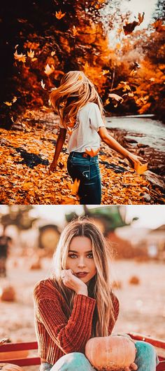 Source by alinaolesya fashion fall pictures Horse Senior Pictures, Unique Senior Pictures, Country Senior Pictures, Senior Photos Girls, Fall Pictures, Fall Photos, Fall Senior Pics, Senior Posing, Senior Session
