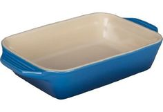 Le Creuset Stoneware Rectangular Dish, 10.5 by 7-Inch, Marseille *** New and awesome product awaits you, Read it now  : Cookware