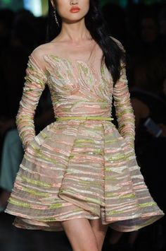 Elie Saab Haute Couture (Détails) Printemps 2015