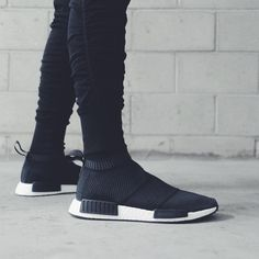 NMD City Sock (via in. Athletic Outfits, Sport Outfits, Fall Outfits, Adidas Nmd, Adidas Shoes, Nmd City Sock, Yeezy, Sneakers Fashion, Fashion Shoes