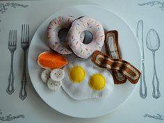 DIY Felt Breakfast Foods