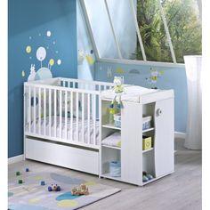 Utile et décoratif, le tiroir de lit #chambre transformable #Sauthon permet d'augmenter la capacité de rangement de la chambre de bébé en utilisant l'espace inexploité sous le lit Nino. #tiroirdelit #tiroiràroulettes #nino #mobilier