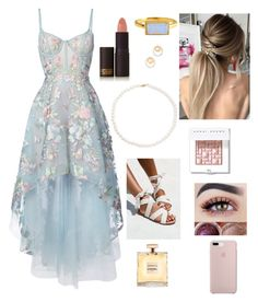"""""""My dream prom"""" by ehull4640 on Polyvore featuring Lipstick Queen, Notte by Marchesa, Tara, Bobbi Brown Cosmetics, Chanel and Madewell"""