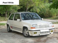 Renault 5 GT Turbo Phase 2 Pearl White