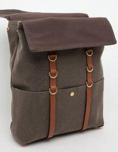 Mismo / M/S Backpack Melange Brown