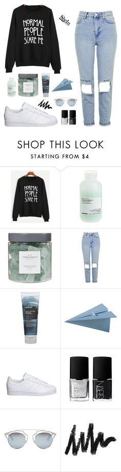 """""""EVERYTHING IS BLUE"""" by noeliahoran99 ❤ liked on Polyvore featuring Davines, Threshold, Topshop, Korres, CB2, adidas, NARS Cosmetics and Christian Dior"""