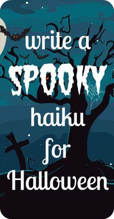 How to write a haiku - free video workshops for kids and teens.