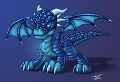 °Blue Dragon by TomNewbury Dragon Blue, Ice Dragon, Water Dragon, Baby Dragon, Dragon Lady, Film Blue, Fantasy Paintings, Fantasy Art, Fantasy Creatures