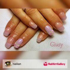 Romantico Lilla by nailian via Nail Art Gallery #nailartgallery #nailart #nails #gel