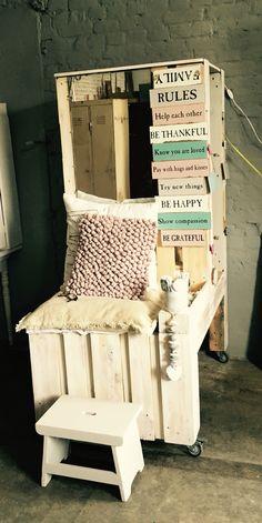 garderobe holz handandheart by sf pinterest garderobe holz garderoben und holz. Black Bedroom Furniture Sets. Home Design Ideas