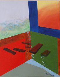 """Obra """"Emoção do Vale"""" de Patrícia Amato - 50x40cm"""