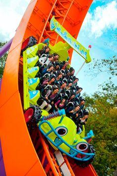 Reason I want to go to Disneyland Paris: Toy Story Playland!