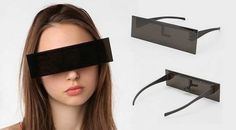Block all the haters out while protecting your eyes. | 16 Things To Wear On Public Transportation When You Hate Everyone