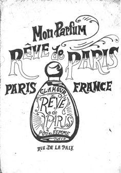Rêve de Paris on Behance