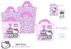Hello Kitty 'Woodland Animals' Extendible Tote Bag Shopping Shopper Brand New   eBay