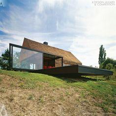 Hiza-contemporary cottage Single family holiday house by Proarh http://www.proarh.hr/portfolio/kumrovec-2/