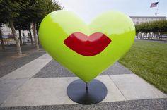 San Francisco Heart ~ ღ Skuwandi Heart Of Life, Heart In Nature, I Love Heart, Key To My Heart, Happy Heart, Valentine Heart, Valentines, San Francisco, Heart Images