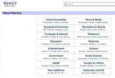 Yahoo! Directory. Una pàgina que segurament havien utilitzat per navegar per diferents pàgines i tafanejar a veure si trobaven alguna cosa del seu interès.