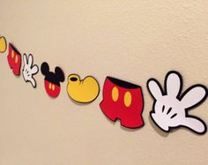 Mickey Mouse Banner by on Etsy Mickey Mouse Banner, Theme Mickey, Minnie Mouse Party Decorations, Fiesta Mickey Mouse, Mickey Party, Mickey Mouse Clubhouse, Mickey Mouse Birthday, Mickey Mouse Room, Disney Cupcakes