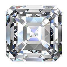 For sale 5.38 Carat Asscher Diamond